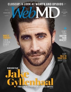 WebMD Magazine - September 2017 Cover Dr. J