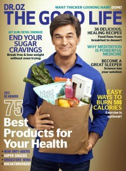 Dr.Oz The Good Life Magazine - March 2017 featuring Dr. Jegasothy