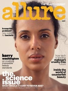 Allure November 2017 featuring Dr. Jegasothy