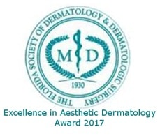 Florida Society of Dermatology and Dermatologic Surgery Award